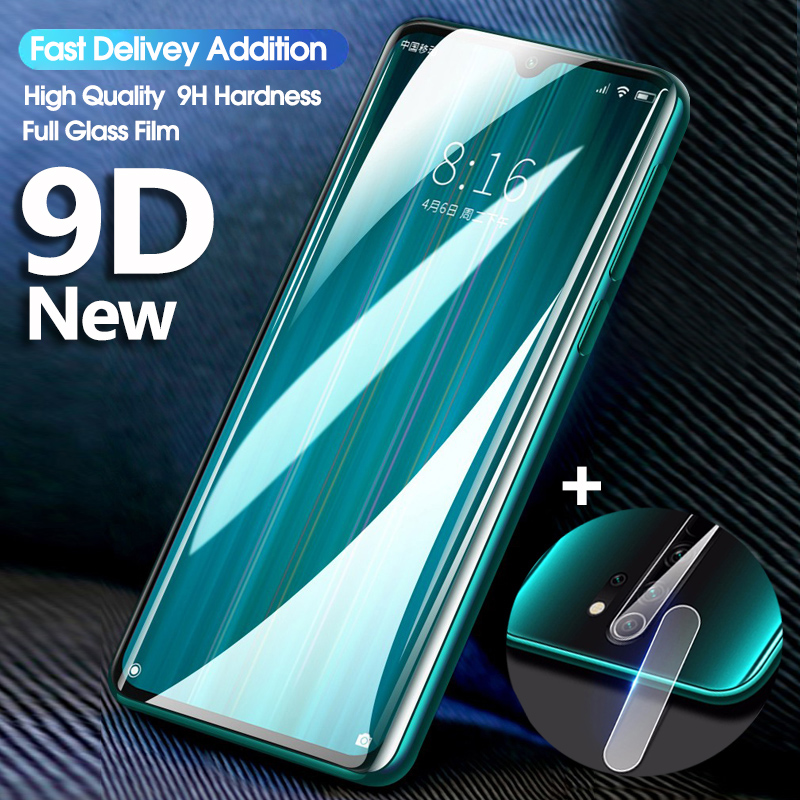 2 In-1 Camera Glass Redmi Note 8 Tempered Glass Screen Protector For Xiaomi Redmi Note 8 Pro Global Version Protective Glas Film