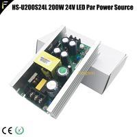 HS U200S24L 200w 24V 8.3A LED Zoom Par Power Source Board Supply Outdoor Light Wash Par Power Pack for 18*18w 18*12w 36*3w 54*3w