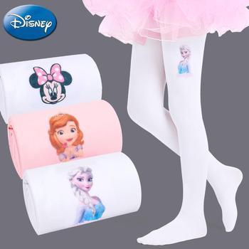 Original Two Pairs Disney Frozen Elsa Children's Pantyhose Spring Baby White stocking Summer Princess Dance  Girls Legging - discount item  49% OFF Baby Clothing