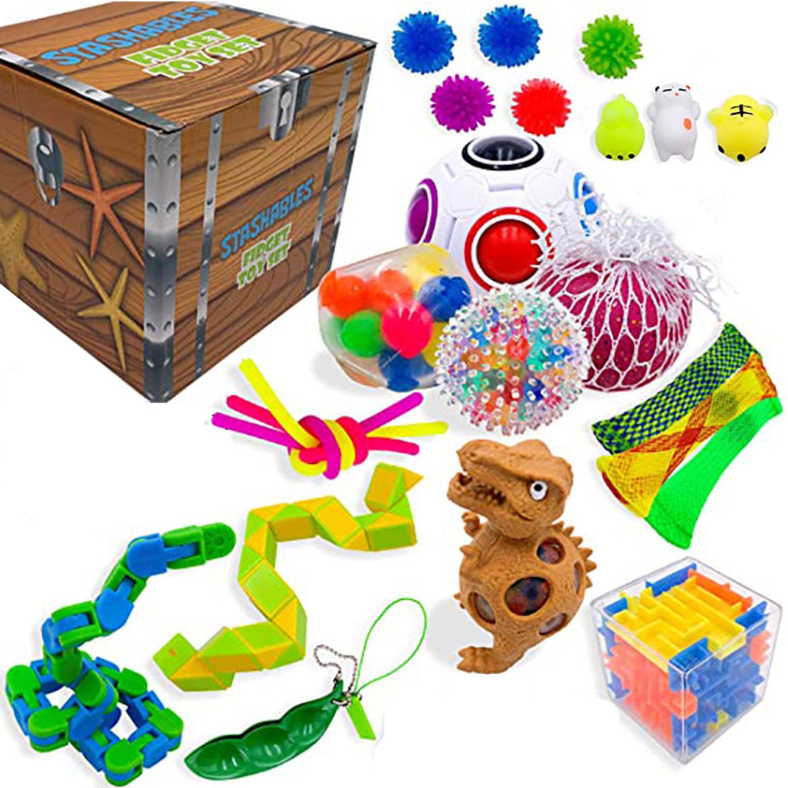 26 Styles Popit Fidget Toy Set