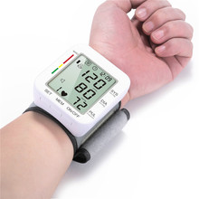 Portable Wrist Digital Blood Pressure Monitor Heartbeat Test Health Care Monitor CE Certification Blood Pressure Monitor yongrow wholesale wrist blood pressure monitor health care blood testing machine automatic digital blood pressure meter