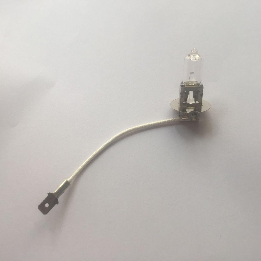 H3 6v55w лампа для фонарика, H3 6V 55W Автомобильная Лампа, длина линии 8 см