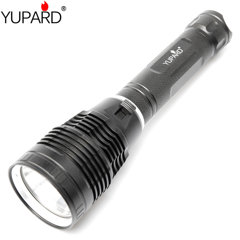 YUPARD XHP70.2 LED High Powerstrong Light Diving Flashlight Underwater Flashlight Diving Lamp Diverfishing Lantern 26650 Battery