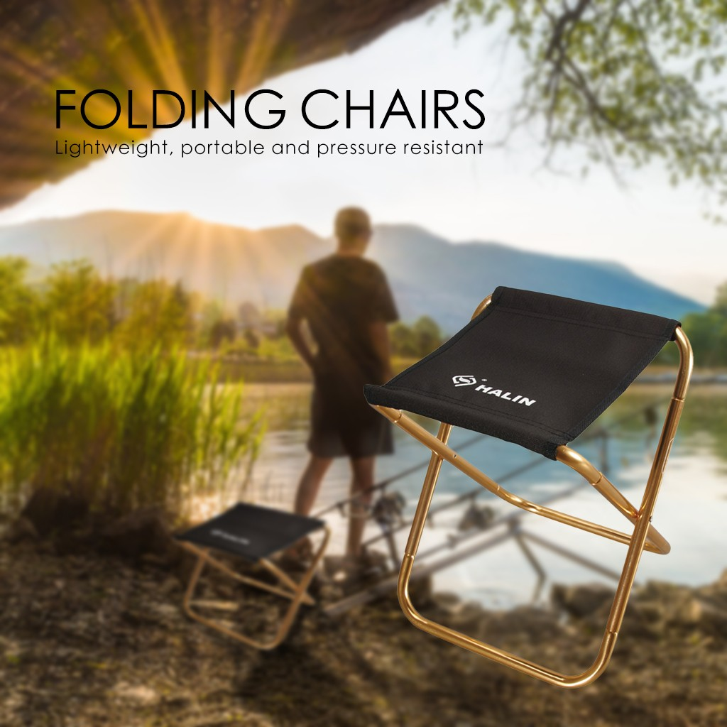 Portable Folding Chair Outdoor Camping Fishing Picnic Beach BBQ Stools Mini Seat Decoration Selling Accessories Tool Home Dropsh