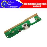 Oukitel K6000 Plus usb board 100% Original Neue für usb stecker lade board Ersatz Zubehör für K6000 Plus telefon