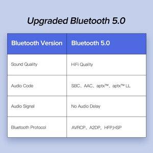 Image 4 - UGREEN Bluetooth 5.0 araç kiti alıcı aptX LL kablosuz 3.5 AUX adaptörü için araba hoparlörü USB Bluetooth 3.5mm Jack ses alıcı
