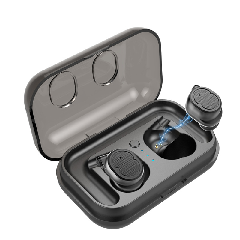 Smart Touch True Wireless Stereo Earphones Bluetooth5.0 Sports <font><b>Waterproof</b></font> <font><b>Earbuds</b></font> with <font><b>battery</b></font> box standby 70H HIFI headset image