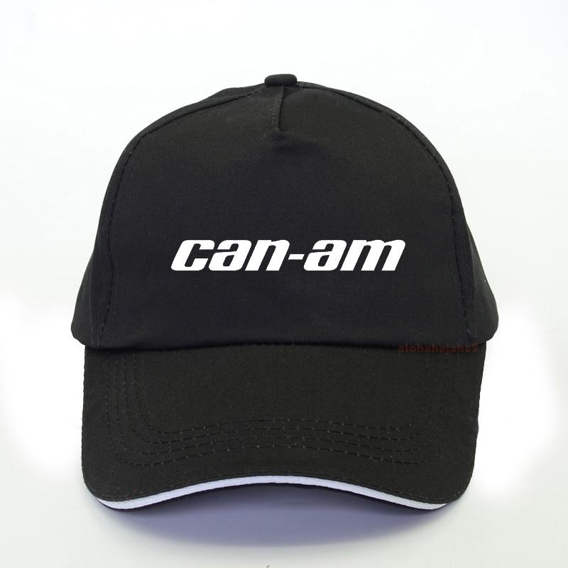 BRP Can-am Team Print Baseball Cap Men Summer Hip Hop Cap Fashion Brand CAN-AM Letter Print Snapback Hat