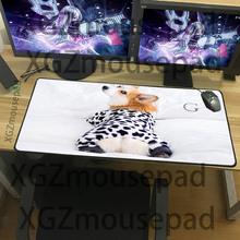 XGZ Large size mouse pad cute animal table mat home computer office rubber non-slip waterproof keyboard