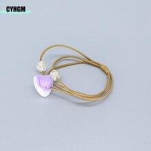 CYHGM durag hair scrunchies velvet elastic bands scrunchy in womens Hair Accessories opaska rubber band  F34