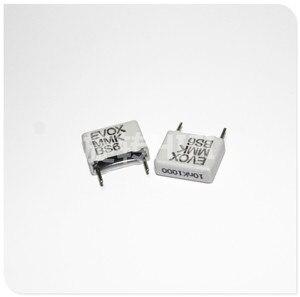 Image 1 - 20 pçs nova evox mmk10 0.01 uf 1000v p10mm filme capacitor mmk 103/1000v áudio 103 venda quente 10nf 1kv