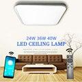 Decke led beleuchtung lampen RC dimmbare platz moderne schlafzimmer wohnzimmer lampe oberfläche montage balkon 24w 36w 40w decke