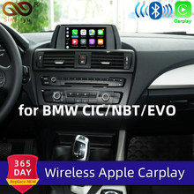 Sinairyu WIFI inalámbrico de Apple Carplay coche jugar para BMW CIC NBT EVO 1 2 3 4 5 7 Serie X1 X3 X4 X5 X6 MINI i3 Android Auto espejo(China)
