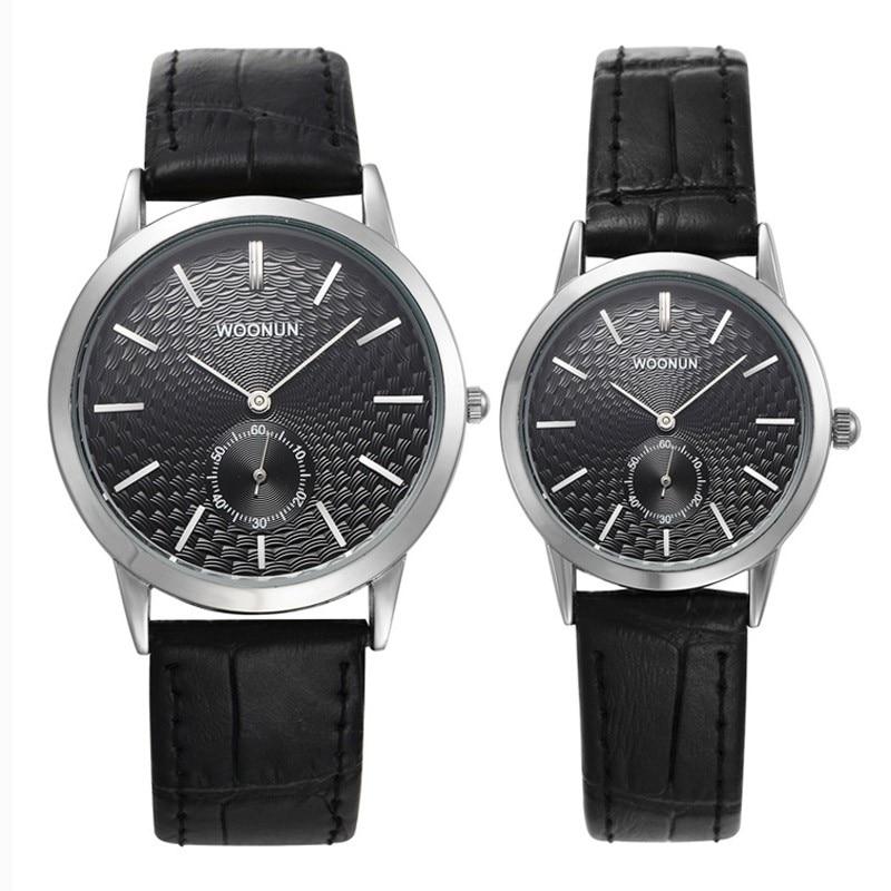 Moda Simples Relógios Relógio Casal Pulseira de