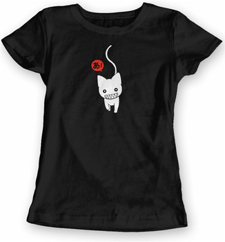 Azumanga Daioh camiseta damas estilo suave equipada-Anime Manga nuevo diseño divertido Tee...