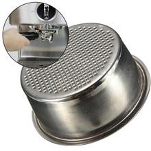 51 мм фильтр для кофе чашка без давления фильтр корзина для Breville Delonghi фильтр Krups Кофе продукты Кухня Аксессуары для дома