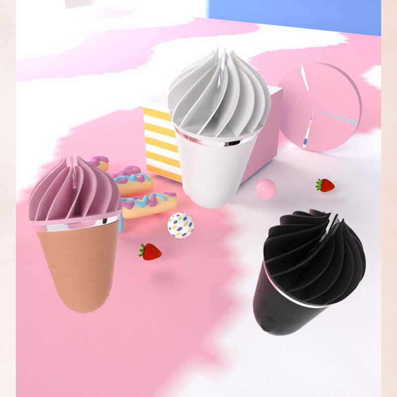 독일 Satisfyer Sweet Treat 아이스크림 콘 섹스 바이브레이터 여성용 소프트 실리카 젤 클리토리스 자극기 미니 성인 완구