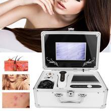 7 дюймовый ящик-Тип головы волосяной фолликул уход за кожей лица детектор волос машина анализатора цифровой здоровье кожи обнаружения 100-240V