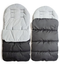 Winter Baby  Stroller sleeping bags Toddler Universal Footmuff Cosy Toes Apron Liner Buggy Pram  windproof warm thick cotton pad