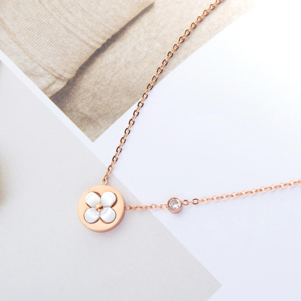 Big Discount 7bff Brand Jewelry Version Short Female Necklace