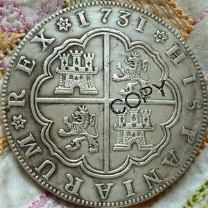 1731 ИСПАНИЯ 8 Reales монеты
