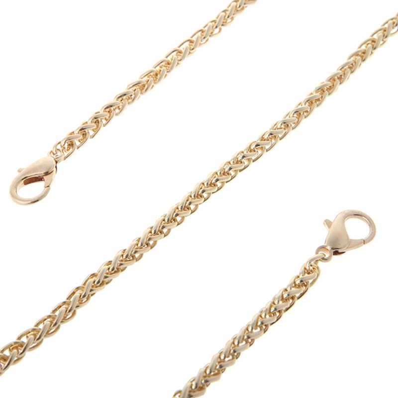 Replacemant Purse Chain Strap Handvat Schouder Crossbody Handtas Tas Metalen 120 Cm