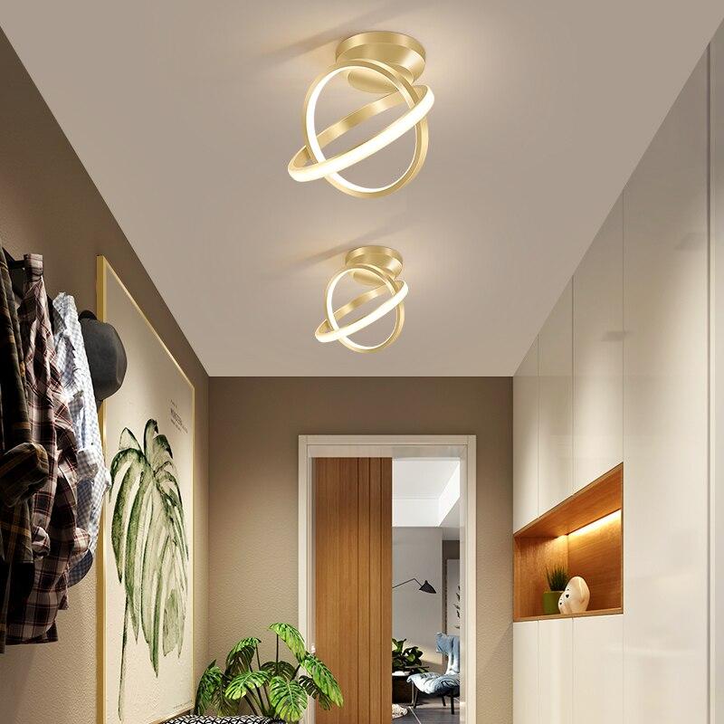 Corridor aisle light light luxury led ceiling lights simple modern home entrance Entrance bedroom porch cloakroom ceiling lamp