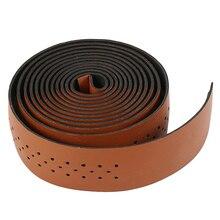 Bicycle-Handlebar-Tape Mountain-Road-Bike Mesh-Design Non-Slip 2PCS Wrap-Straps Perforated-Belt