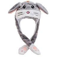 2021 mode Hüte Frühling Und Sommer Mode Niedlichen Männer Und Frauen Plüsch Stickerei Kaninchen Ohr Hut Wrap Warm Hut Kappe gedruckt Caps