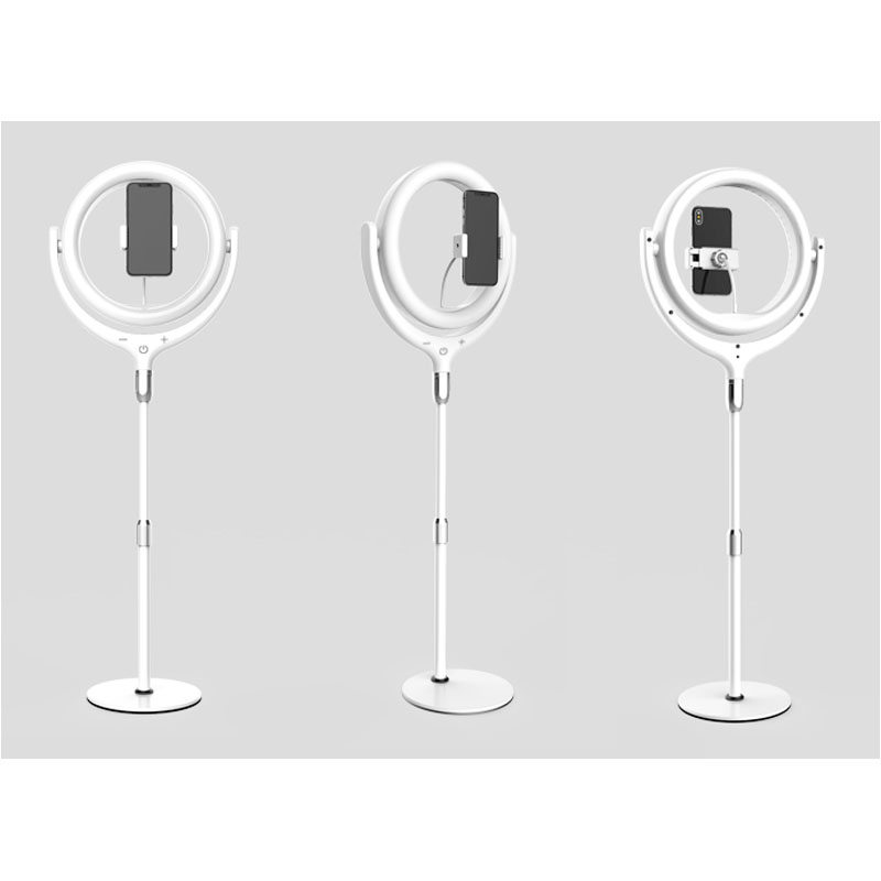 cheapest MINI Mobile Phone Flashes   Selfie Lights Mini Potable Selfie Light Rechargeable Beatuty Selfie LED Light Large Battery capacity