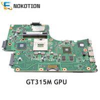 NOKOTION V000225190 V000225180 6050A2452501 MB A01 Para Toshiba Satellite C665 C650 Laptop motherboard HM65 DDR3 GT315M GPU|intel hm65|motherboard intellaptop motherboard -