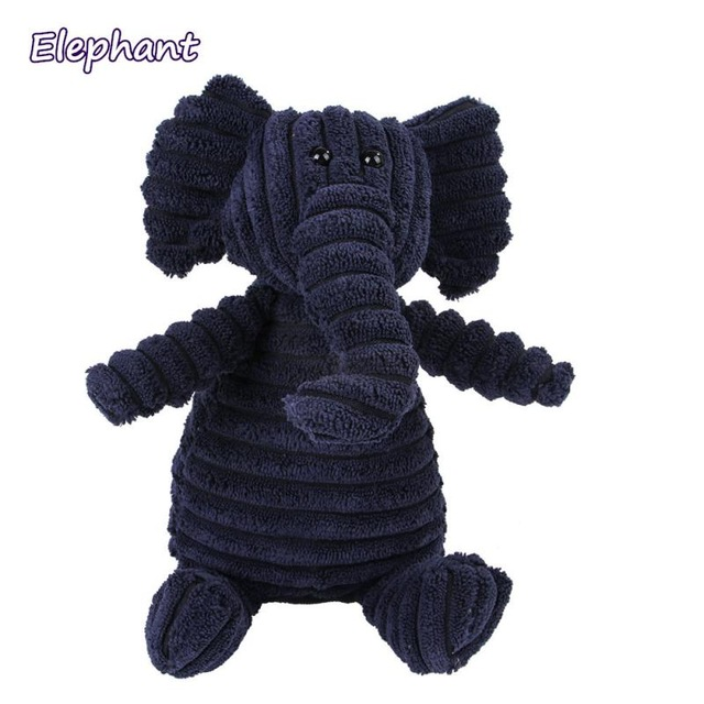 Corduroy Dog Toys for Small Large Dogs Animal Shape Plush Pet Puppy Squeaky Chew Bite Resistant Toy Pets Accessories Supplies 18