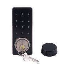 Домашний офис умный Bluetooth Сенсорный экран замок Цифровой Пароль Клавиатура дверной замок с мобильным приложением дистанционное управление