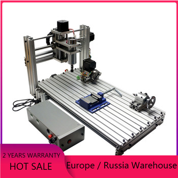 DIY mini cnc router 3020 pcb milling machine 400W wood engraving 3040 metal carving 6030 with ER11 collet DC spindle motor 5 axis diy cnc 3040 with 400w spindle motor usb port mach3 er11 collet type for pcb pvc woodworking cnc milling machine