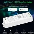 Miboxer 5 IN 1 WiFi LED controller WL5 2 4G 15A YL5 upgrade Streifen dimmer Für Einzelne farbe  CCT  RGB  RGBW  RGB + CCT Led lampe band|RGB-Controller|Licht & Beleuchtung -