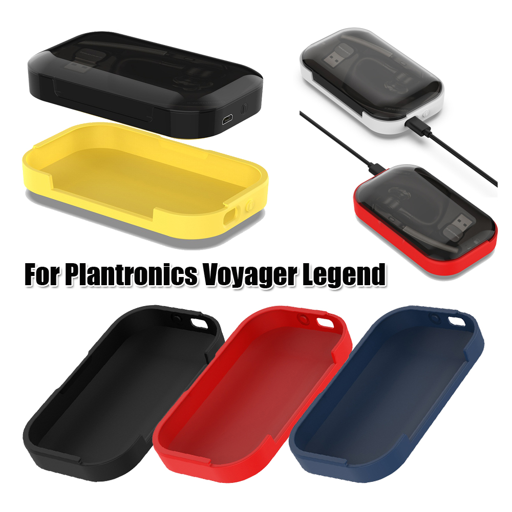 New Coming Silicone Case Full Cover For Plantronic Voyager Legend Bluetooth Headset Charging Case Shockproof Colorful Classic Earphone Accessories Aliexpress
