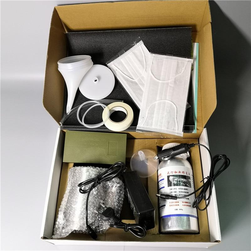 Car Polish Headlight Vehicle 800G Car Glass Non-Scratch Headlight Refurbishmen Repair Hydrophobic Coat Scratch Repair Kit