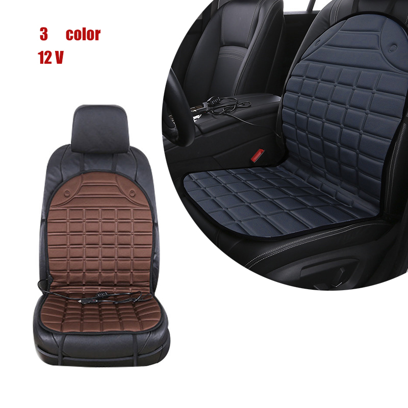 2 Pack Universal Car Heated Seat Cushion Heated Seat Covers 12V 30W-38W 45-65 Degree Adjustable Auto Heating Pad Cushion