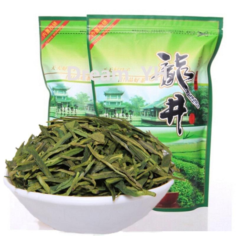 Early Spring Fresh Dragon Well Chinese  Longjing Tea  Green Tea 250g Oolong Tea   Organic Fragrance Tea For Losing Weight