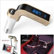 1pc carro kit handsfree fm transmissor de rádio mp3 player carregador usb automóvel jogador rádio fm transmissor acessórios do carro