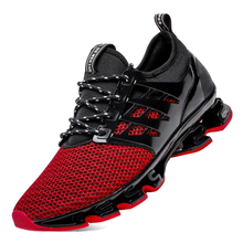 Large Size Outdoor Breathable Running Shoes 39-48 Blade Sole Cushioning Running