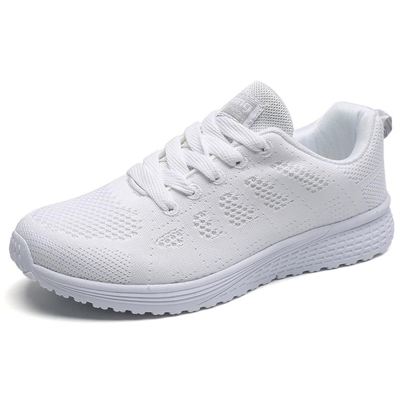 White Tenis shoes