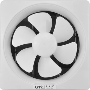 Louvered Kitchen Fume Ventilator Fan Bathroom Easy to install Extractor fan Powerful High Power Mute Wall-mouned Exhaust Fan(China)