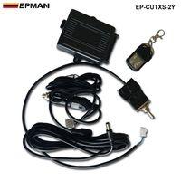 Télécommande sans fil et interrupteur à bascule pour silencieux d'échappement système de découpe de soupape électrique vidage pour siège EP-CUTXS-2Y