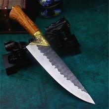 Longquan ручной Кованый острый нож для склеивания рыбы кухонный