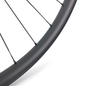 Image 3 - הרי אופני אסימטרית hookless MTB זוג גלגלי פחמן 29er XC/AM 36mm רוחב 24mm עומק עם mtb DT350S רכזת