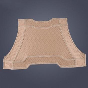 E27 lampa artystyczna odcienie do lamp stołowych prostokątna tkanina żakardowa klosz w kształcie rombu klosz z tkaniny kominowej tanie i dobre opinie iron Nowoczesne 44cm 1 35kg Abażury beige
