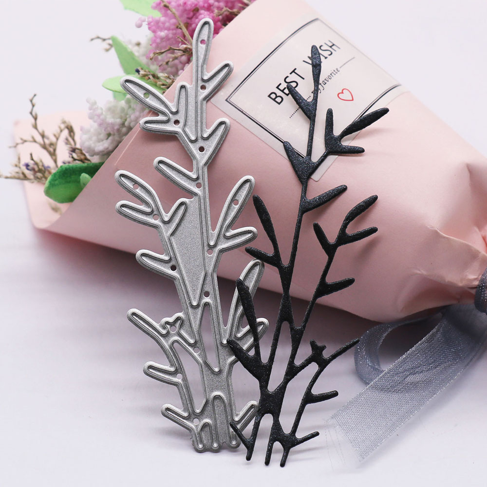 Grass New Cutting Dies for Scrapbooking Album Paper Cards Decorative Crafts Embossing Folder Card Metal Die Stamps And Dies