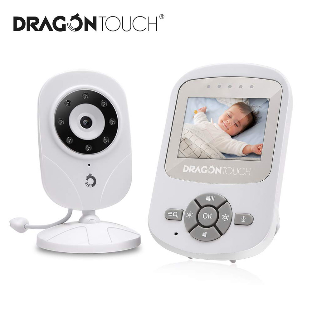 2.4'' Wireless Video Baby Monitor DT24 Pro HD Wifi Temperature Monitoring Night Version Color Baby Nanny Security Camera VB603