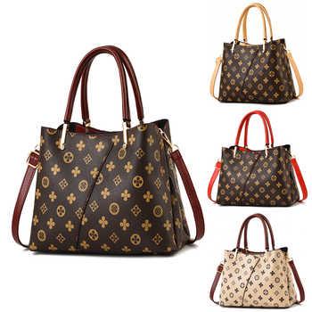 Designer Marke Luxus Frauen Handtaschen für Mädchen Taschen PU Leder Druck Einzelnen Schulter Taschen Modus Große Taschen für Damm